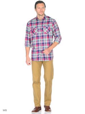Рубашка Favourite. Цвет: фиолетовый