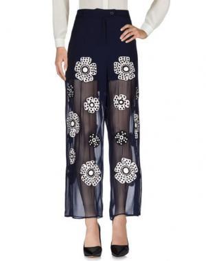 Повседневные брюки JUPE BY JACKIE. Цвет: темно-синий