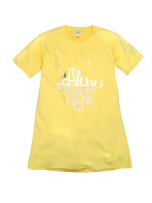 Сорочка Bossa Nova. Цвет: желтый