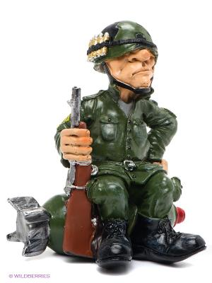 Фигурка Солдат The Comical World of Stratford. Цвет: зеленый, коричневый, серебристый, черный