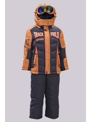 Комплект одежды Steen Age. Цвет: оранжевый