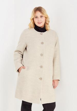 Пальто Silver String. Цвет: бежевый