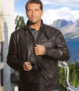 Куртка Байкер AFM. Цвет: коричневыи