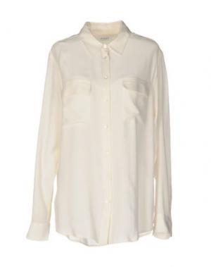Pубашка EQUIPMENT FEMME. Цвет: слоновая кость