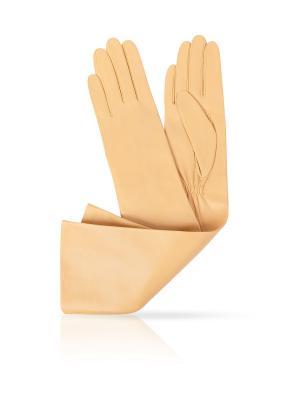 Перчатки Michel Katana. Цвет: бежевый