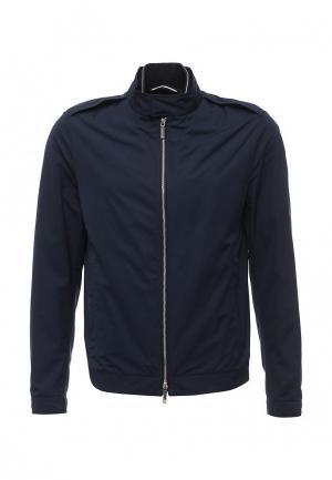 Куртка Boss. Цвет: синий