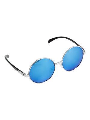 Солнцезащитные очки Kameo-bis. Цвет: синий, серебристый, черный