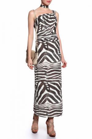 Платье ROSANNA PELLEGRINI. Цвет: черный, белый