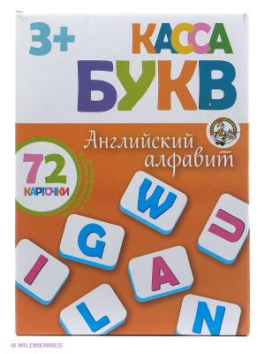 Касса букв. Английский алфавит. Десятое королевство. Цвет: оранжевый