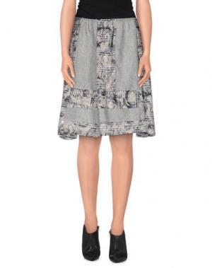 Мини-юбка ROSAMUNDA. Цвет: серый