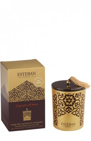 Декоративная арома-свеча Легенды Востока Esteban. Цвет: бесцветный