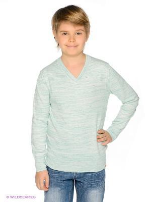 Пуловер American Outfitters. Цвет: светло-зеленый, молочный