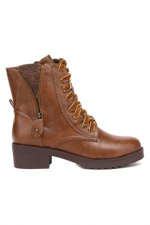 Ботинки MariaMare. Цвет: коричневый