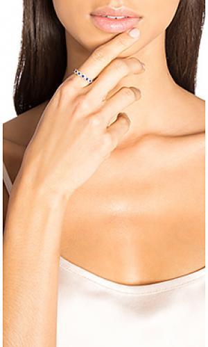 Кольцо с сапфиром и бриллиантом Sachi. Цвет: металлический медный