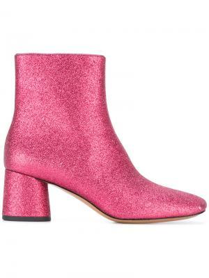 Ботинки Valentine Marc Jacobs. Цвет: розовый и фиолетовый