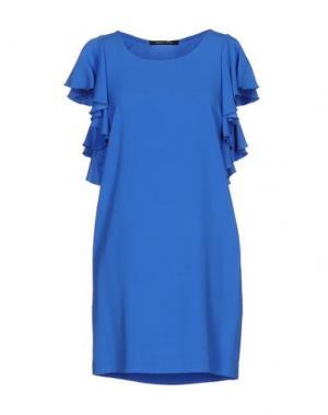 Короткое платье NAUGHTY DOG. Цвет: синий