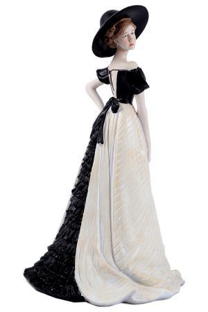 Статуэтка Мисс Классика Русские подарки. Цвет: черный, белый