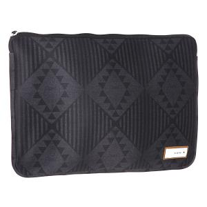 Чехол для ноутбука  15 Inch Laptop Sleeve New West Burton. Цвет: черный,серый
