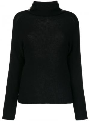 Tubular neck sweater Jo No Fui. Цвет: чёрный
