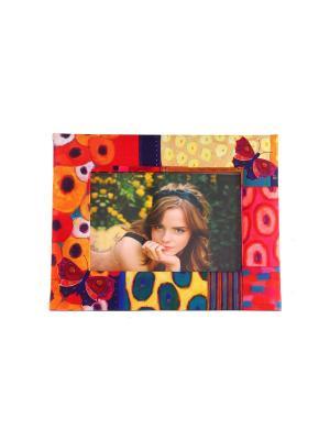 Фоторамка Яркие моменты для фото 18*13см, 25*19см Русские подарки. Цвет: зеленый, красный, розовый, желтый, белый