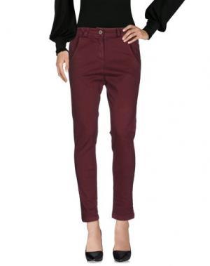 Повседневные брюки BOUTIQUE de la FEMME. Цвет: пурпурный
