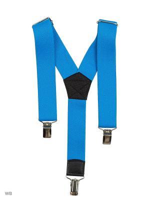 Подтяжки Stilmark. Цвет: голубой