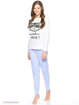 Пижама Women' Secret. Цвет: светло-серый, сиреневый, фиолетовый