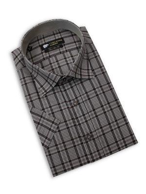 Рубашка мужская Corleone.. Цвет: коричневый