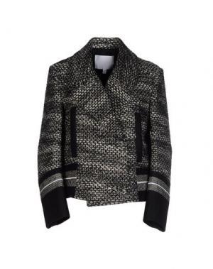 Пиджак NICOLE FARHI. Цвет: черный