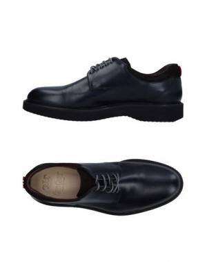 Обувь на шнурках GREEN GEORGE. Цвет: темно-синий