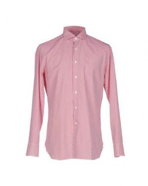 Pубашка ALESSANDRO GHERARDI. Цвет: красный