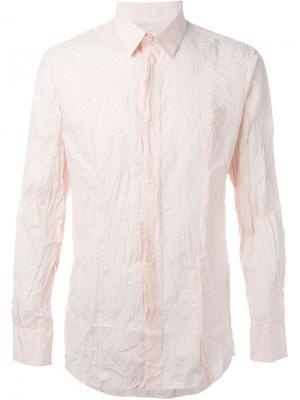 Рубашка с карманом Matthew Miller. Цвет: розовый и фиолетовый