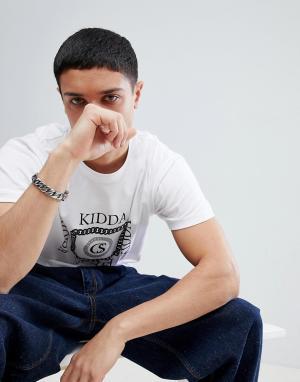 Christopher Shannon Белая футболка Kidda By. Цвет: белый