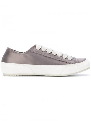 Metallic sneakers Pedro Garcia. Цвет: серый