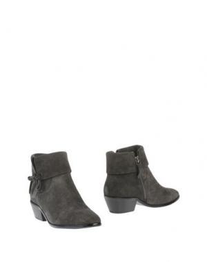 Полусапоги и высокие ботинки BIBI LOU. Цвет: свинцово-серый
