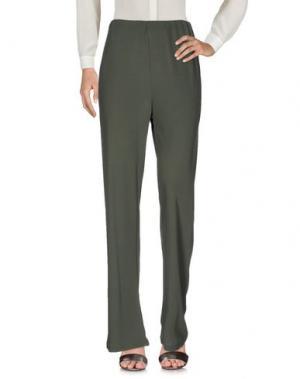 Повседневные брюки BARONI. Цвет: зеленый-милитари