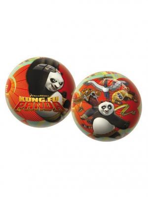 Мяч Кунг-фу Панда 23 см Unice. Цвет: красный, желтый