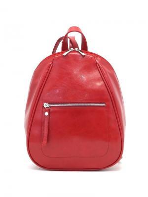 Рюкзак Solo true bags. Цвет: темно-красный
