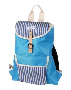 Рюкзаки и сумки на пояс NATI CON LA CAMICIA. Цвет: лазурный