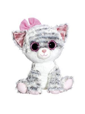 Глазастик Кошечка Fancy. Цвет: серый