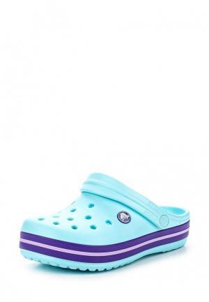 Сабо Crocs. Цвет: бирюзовый