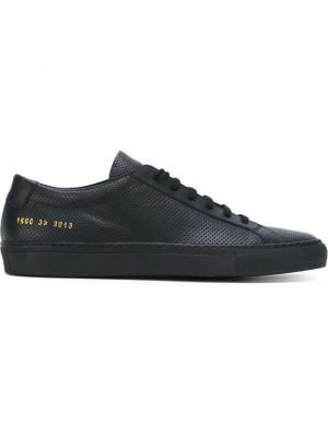 Кеды Achilles Low Perforated Common Projects. Цвет: синий