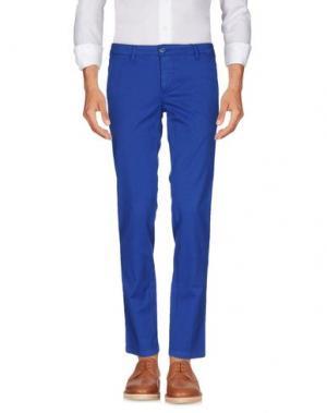 Повседневные брюки MANUEL RITZ. Цвет: синий