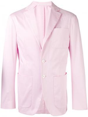 Классический пиджак с длинными рукавами Dsquared2. Цвет: розовый и фиолетовый