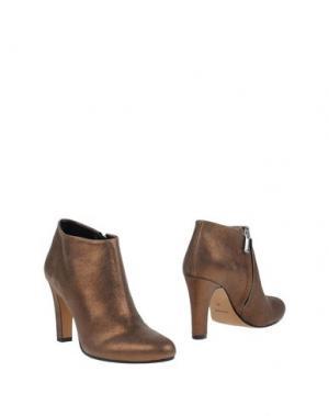 Ботинки BIANCA DI. Цвет: бронзовый