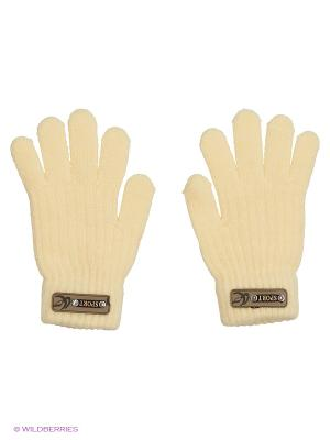 Перчатки Shapkoff. Цвет: светло-желтый