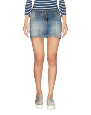 Джинсовая юбка PARASUCO CULT. Цвет: синий