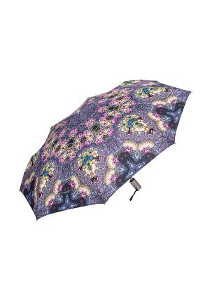 Зонт Slava Zaitsev. Цвет: черный, розовый, сиреневый