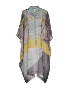 Короткое платье GENTRYPORTOFINO. Цвет: желтый