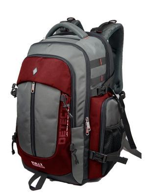 Рюкзак UFO PEOPLE. Цвет: серый, бордовый, черный